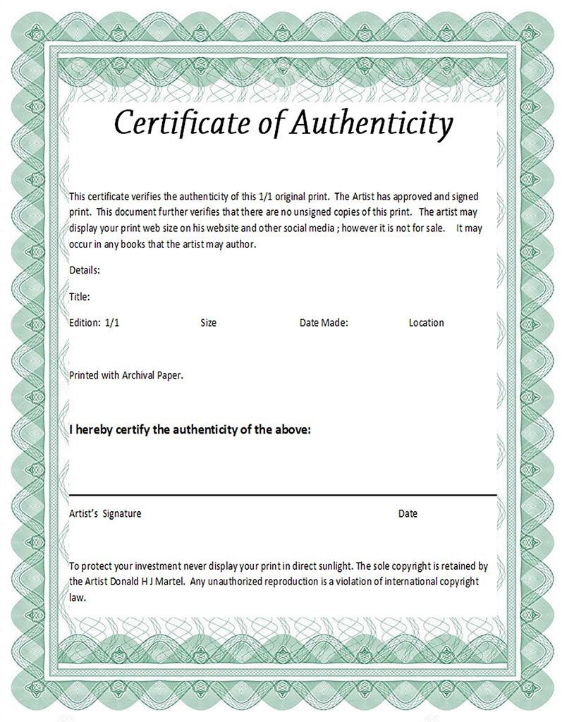 certificate web